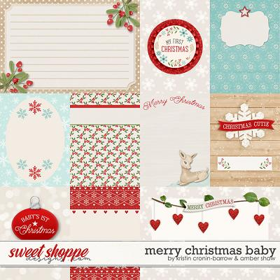 Merry Christmas Baby: Cards by Amber Shaw & Kristin Cronin-Barrow