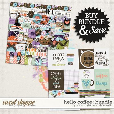 Hello Coffee Bundle by Amanda Yi & Becca Bonneville