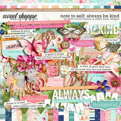 Note to Self: Always Be Kind by Kristin Cronin-Barrow and Studio Basic