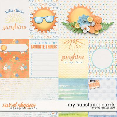 My Sunshine: Cards by River Rose Designs