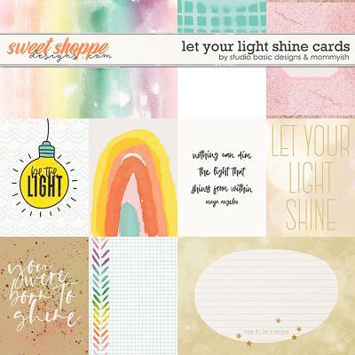 Let Your Light Shine Cards by Studio Basic & Mommyish