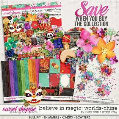 Believe in Magic: Worlds - China Collection by Amber Shaw & Studio Flergs