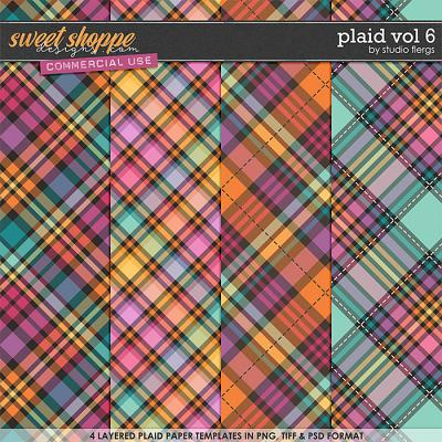 Plaid VOL 6 by Studio Flergs