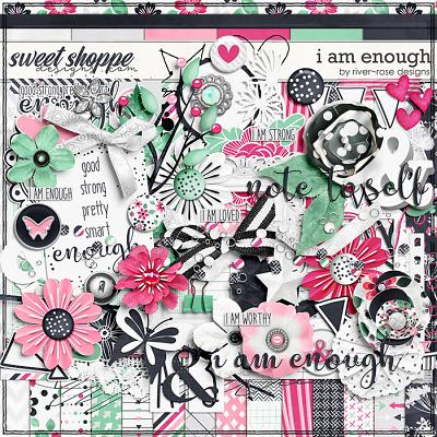 I am Enough by River Rose Designs