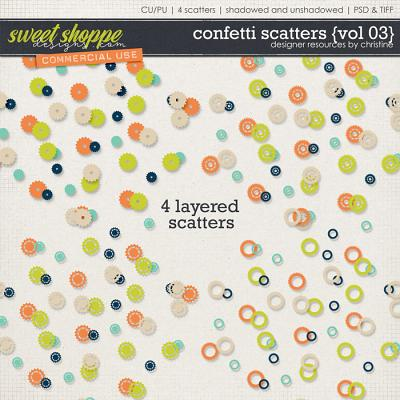 Confetti Scatters {Vol 03} by Christine Mortimer