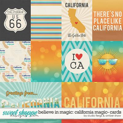 Believe in Magic:  California Magic Cards by Amber Shaw & Studio Flergs