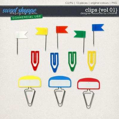 Clipped {Vol 01} by Christine Mortimer