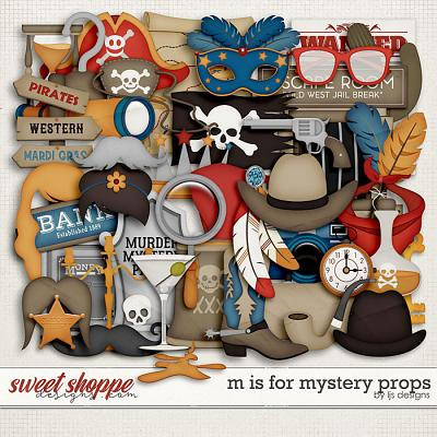 M Is For Mystery Props by LJS Designs