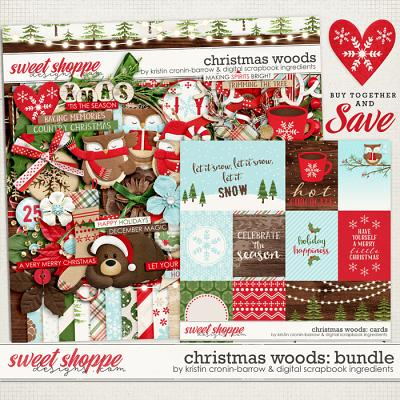 Christmas Woods Bundle by Kristin Cronin-Barrow & Digital Scrapbook Ingredients