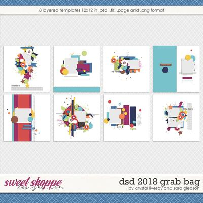 iDSD 2018 Template Grab Bag by Crystal Livesay and Sara Gleason