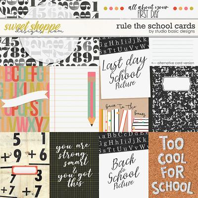 Rule The School Cards by Studio Basic