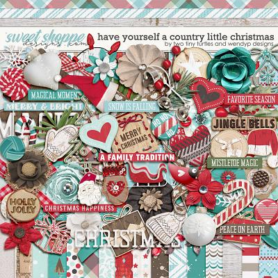 Have Yourself A Country Little Christmas: Kit by WendyP Designs & Two Tiny Turtles