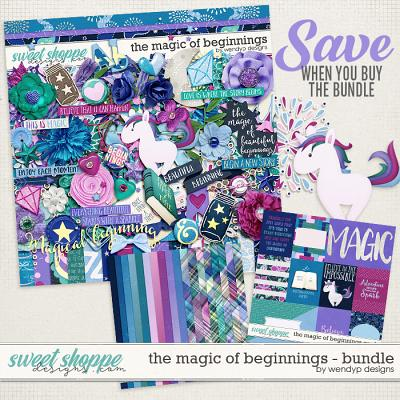 The magic of beginnings - Bundle by WendyP Designs