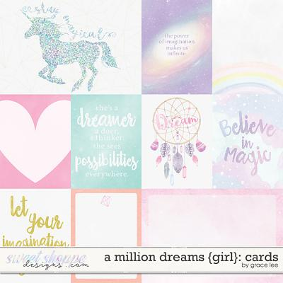 A Million Dreams {Girl}: Cards by Grace Lee