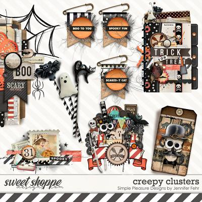 creepy clusters: Simple Pleasure Designs by Jennifer Fehr