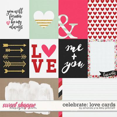Celebrate: Love Cards by Amanda Yi & Libby Pritchett