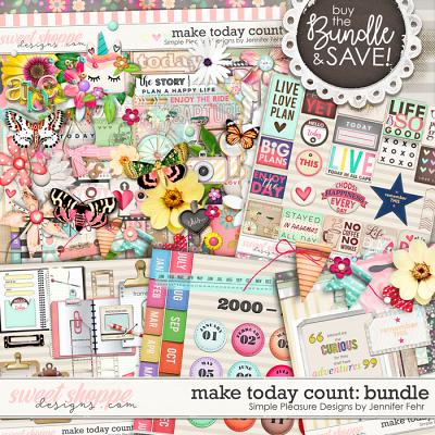 Make Today Count Bundle: Simple Pleasure Designs by Jennifer Fehr