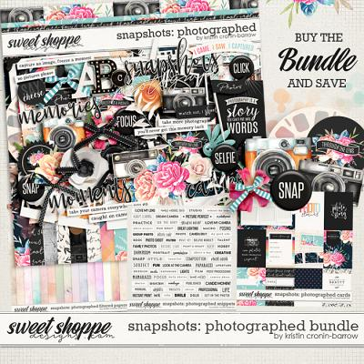 Snapshots: Photographed Bundle by Kristin Cronin-Barrow