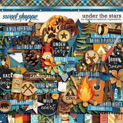 Under The Stars by Digital Scrapbook Ingredients