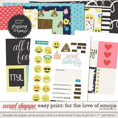 Easy Print: For The Love of Emojis by Amanda Yi