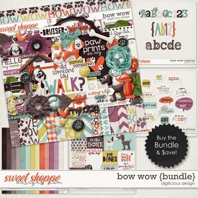 Bow Wow {Bundle} by Digilicious Design