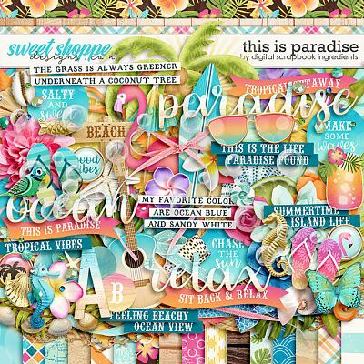 This Is Paradise by Digital Scrapbook Ingredients