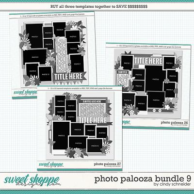 Cindy's Layered Templates - Photo Palooza Bundle 9 by Cindy Schneider