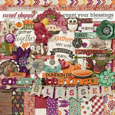 Count Your Blessings by Digilicious Design