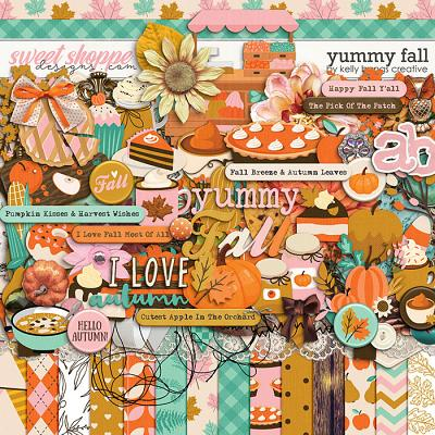 Yummy Fall by Kelly Bangs Creative