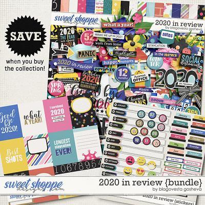 2020 in Review {bundle} by Blagovesta Gosheva