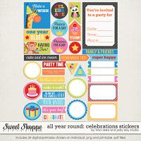 All Year Round: Celebrations Stickers by Jady Day Studio and Traci Reed