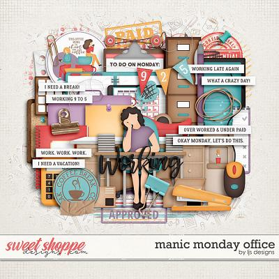 Manic Monday Office by LJS Designs