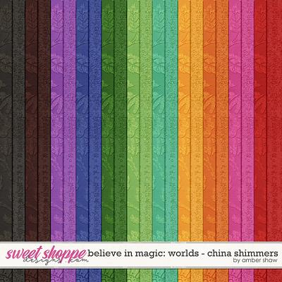 Believe in Magic: Worlds - China Shimmers by Amber Shaw