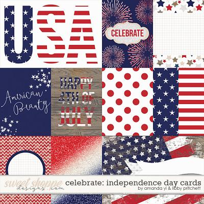 Celebrate: Independence Day Cards by Amanda Yi & Libby Pritchett