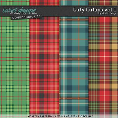 Tarty Tartans VOL 1 by Studio Flergs