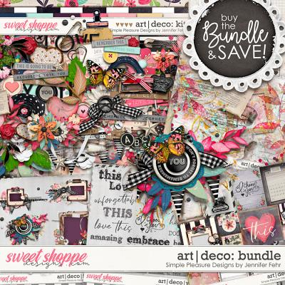 art deco bundle: Simple Pleasure Designs by Jennifer Fehr