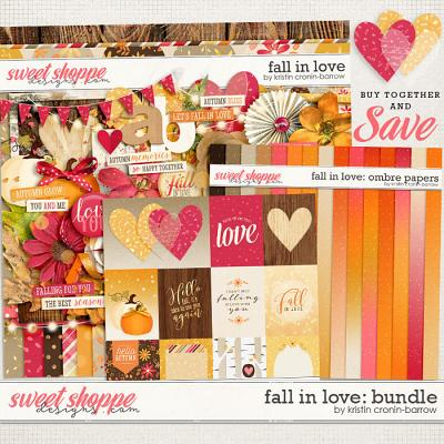 Fall in Love: Bundle by Kristin Cronin-Barrow