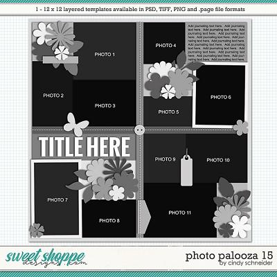 Cindy's Layered Templates - Photo Palooza 15 by Cindy Schneider