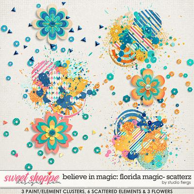 Believe in Magic: FLORIDA MAGIC- SCATTERZ by Studio Flergs