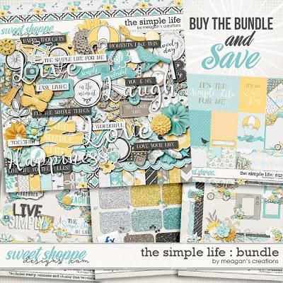 The Simple Life: Bundle by Meagan's Creations
