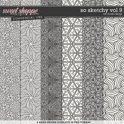 So Sketchy VOL 9 by Studio Flergs