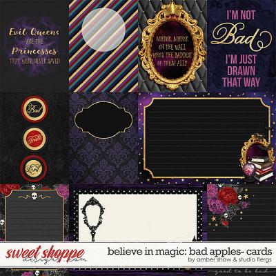 Believe in Magic: Bad Apples Cards by Amber Shaw & Studio Flergs