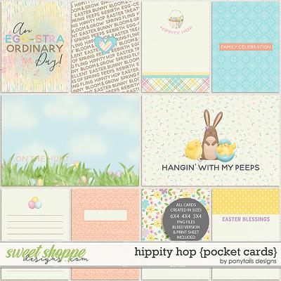 Hippity Hop Pocket Cards by Ponytails