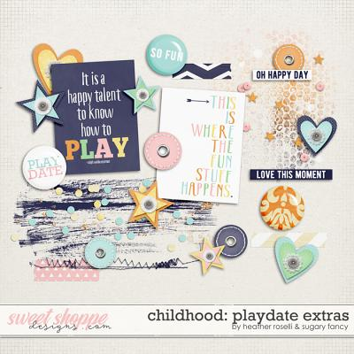 Childhood: Playdate Extras by Heather Roselli & Sugary Fancy