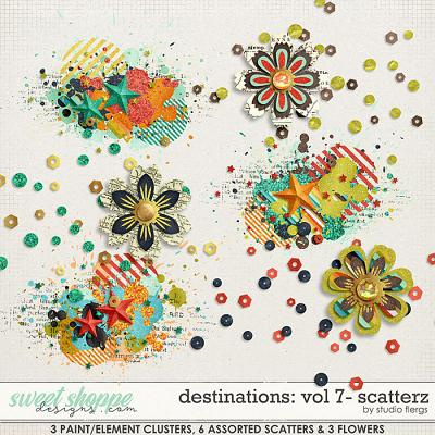 Destinations: Vol 7 - Scatterz by Studio Flergs