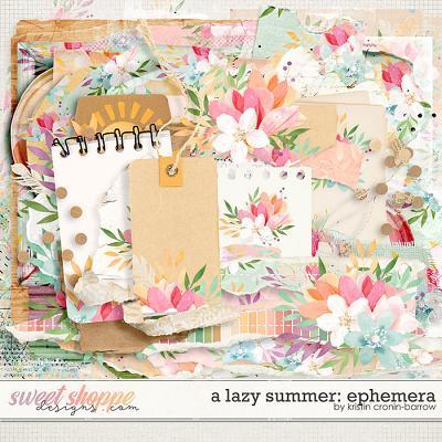 A Lazy Summer: Ephemera by Kristin Cronin-Barrow