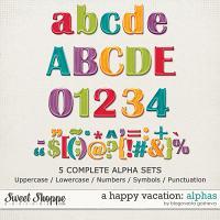 A Happy Vacation: Alphas by Blagovesta Gosheva