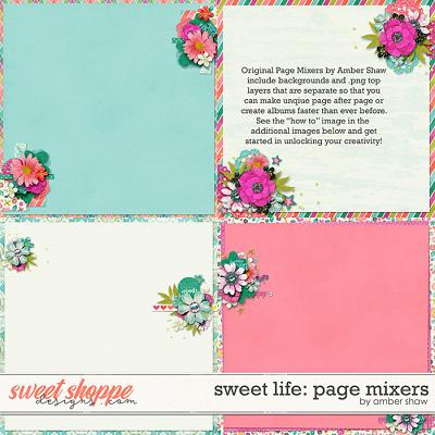 Sweet Life: Page Mixers by Amber Shaw