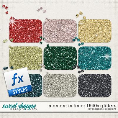 Moment in Time: 1940s Glitters by Meagan's Creations