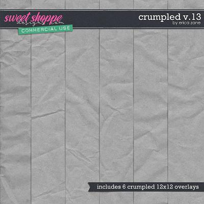 Crumpled v.13 by Erica Zane